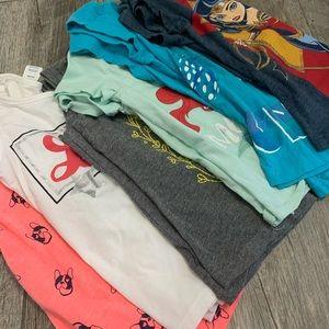 Girls t shirt bundle! 4-5T